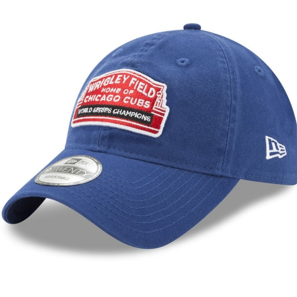 Chicago Cubs World Series Champ Marquee Cap 5d69342d140